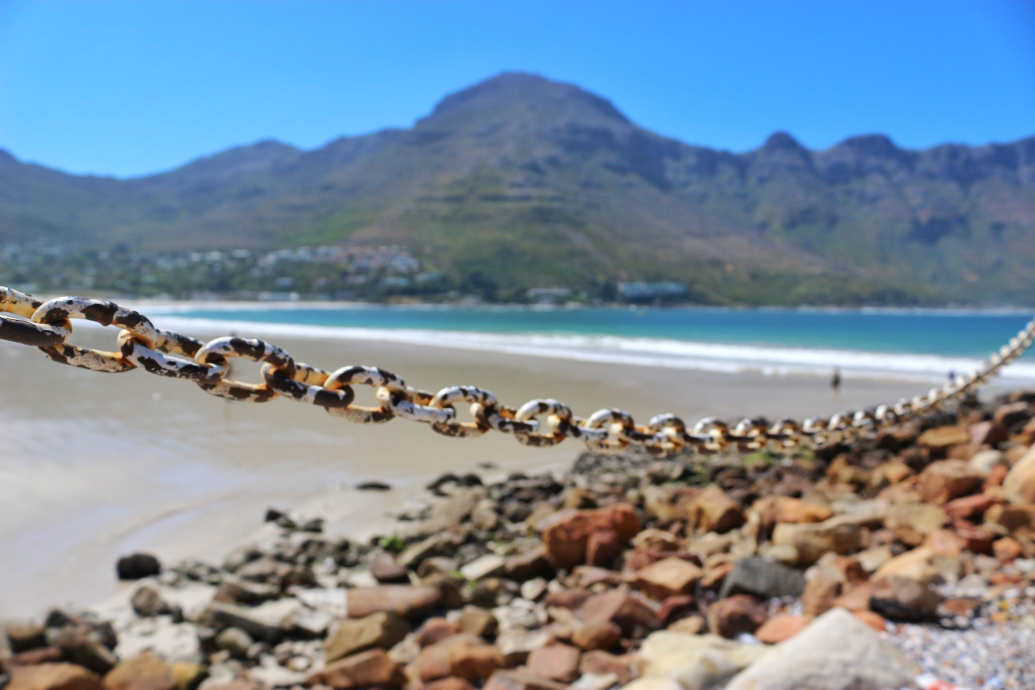 Chain Fence at Hout Bay Harbour